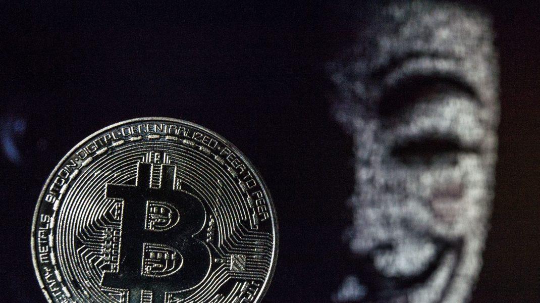 Monedă Bitcoin.