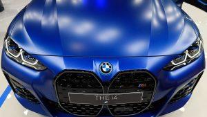 BMW albastru