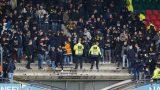 O tribună plină cu suporteri s-a prăbușit la finalul unui meci de fotbal