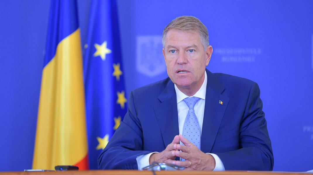 Președintele Klaus Iohannis va susține marți, la ora 18:15, o declarație de presă la Palatul Cotroceni.