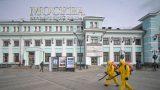 dezinfectare impotriva covid in moscova, rusia