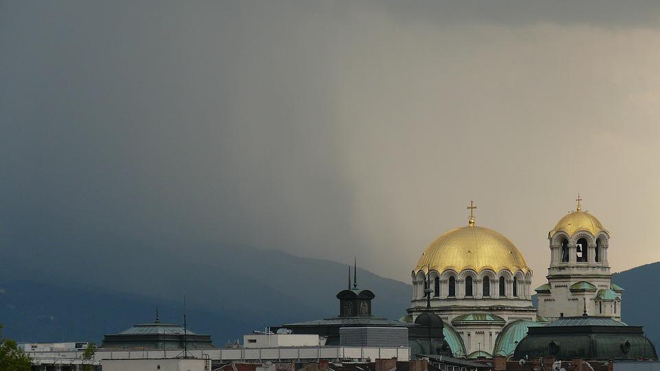 Între 12-13 octombrie 2021, o parte a Bulgariei se află sub cod portocaliu de precipitații abundente.